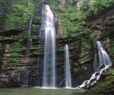 Flumen Transverse Valley and Waterfalls