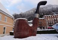 The Biggest Smoking Pipe in the World