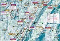 Plan des pistes ski nordique