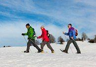 Snowshoe itineraries