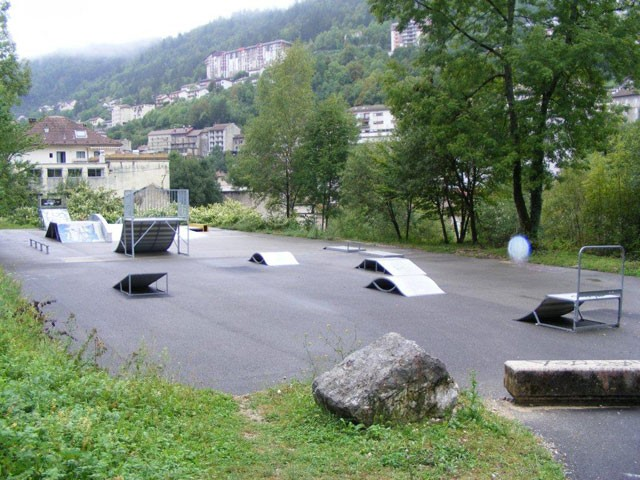 Skate park in Saint-Claude