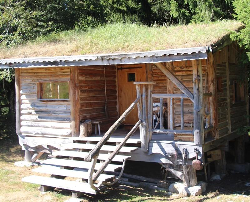 Trapper's hut