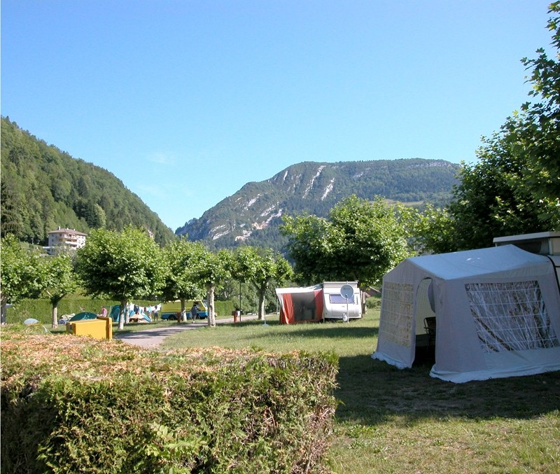 Campingplatz in Saint-Claude