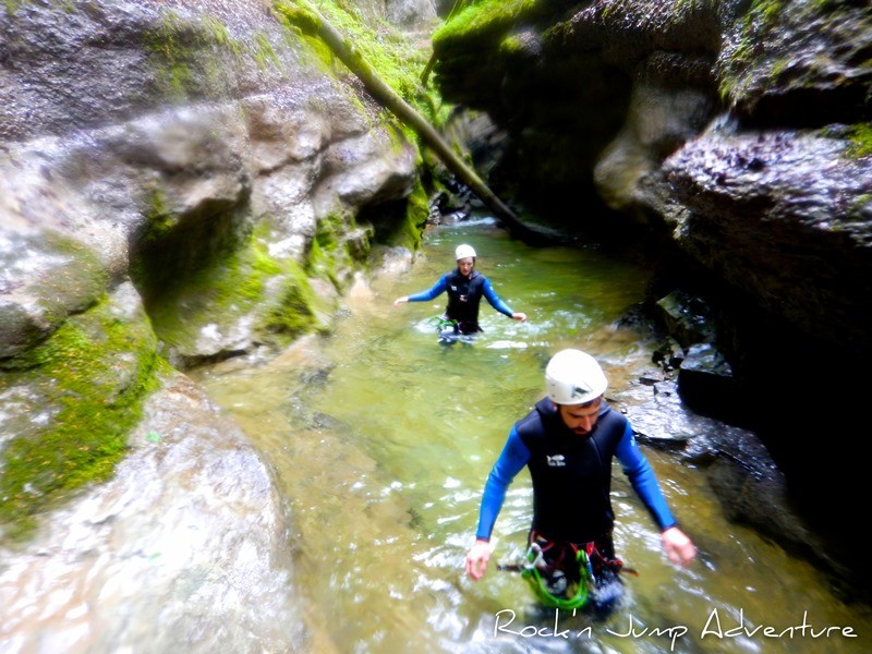 Canyoning and Water Hiking