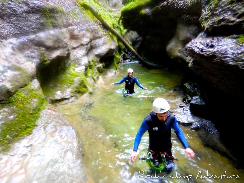 Canyoning und Flusswanderungen