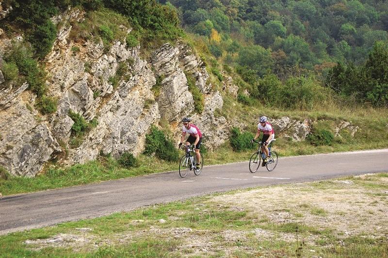 Rundwege für Rennradfahrer