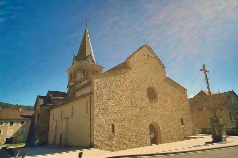 Eglise Notre-Dame in Saint-Lupicin