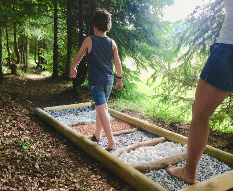 Parcabout - Sentier pieds nus