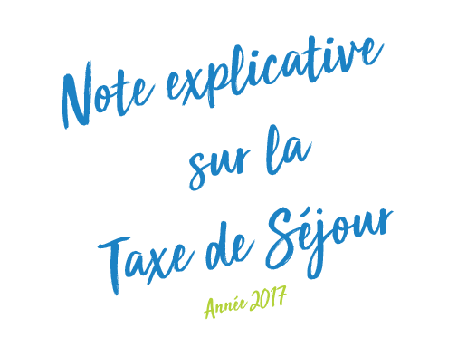 Taxe de séjour 2017