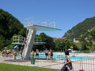 Freibad in Saint-Claude