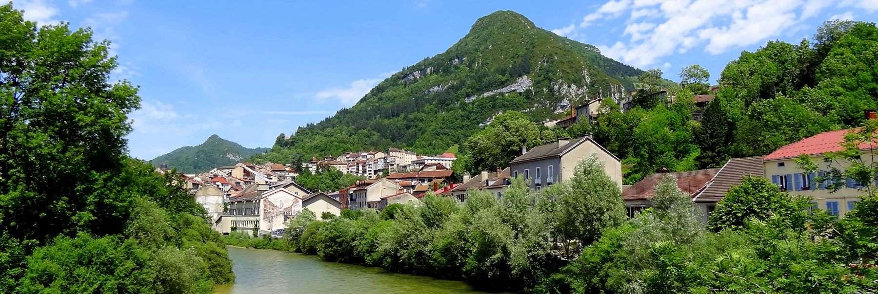 Saint-Claude depuis le Faubourg Marcel