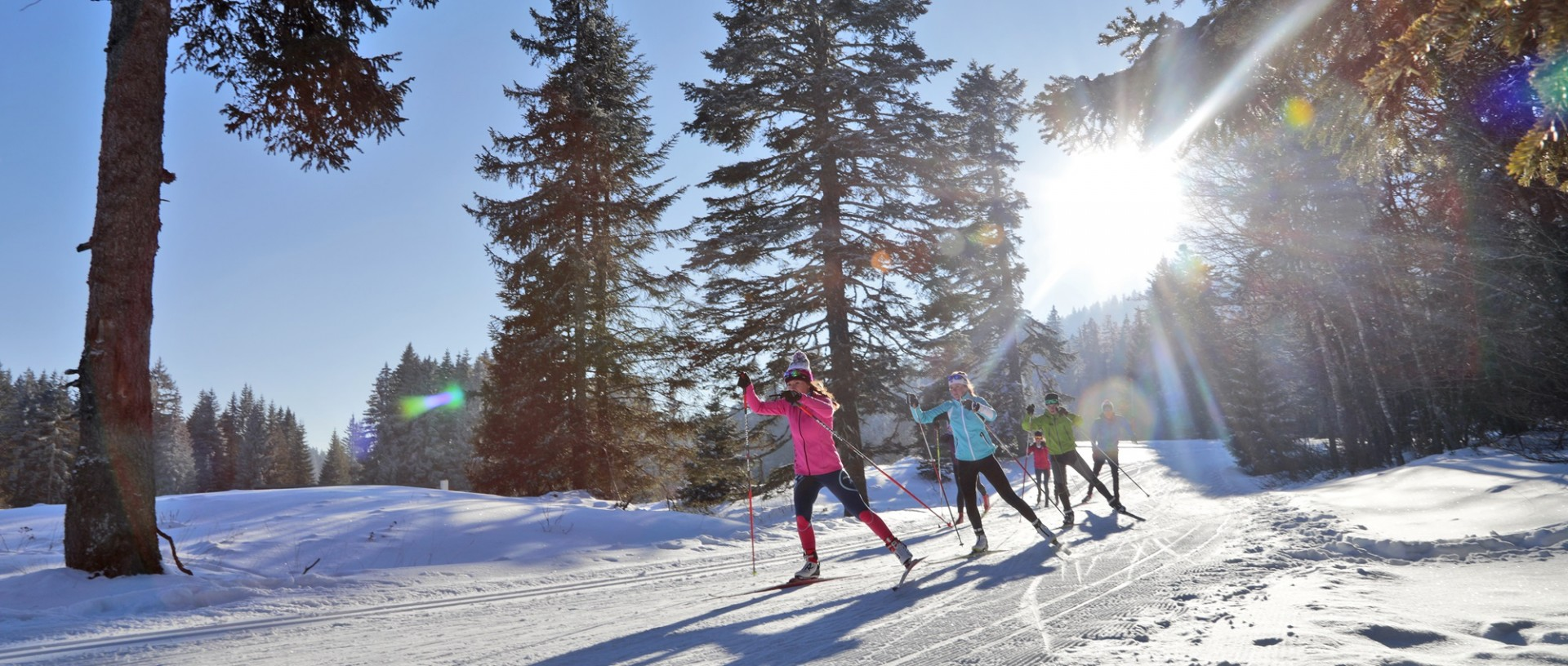 Nordic skiing in Jura