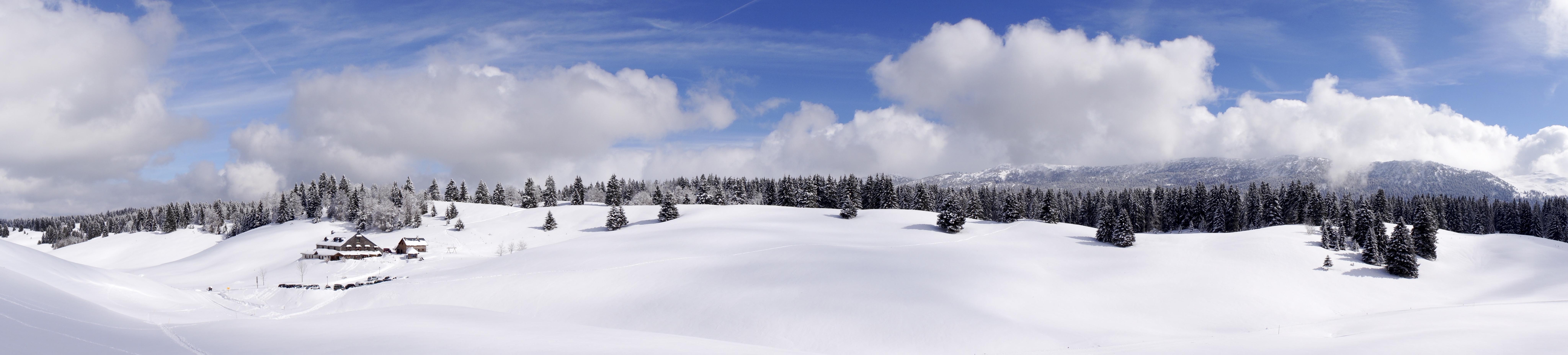 Hautes combes neige - © Sophie Balaska