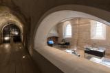 Le grand cloître et la chapelle Notrre Dame des morts  copyright JM.Beaudet