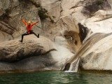 canyoning à Saint Claude Jura