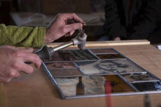 Cyril Micol - Atelier Verre de Voûte