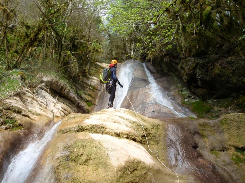 Canyoning Jura Saint Claude