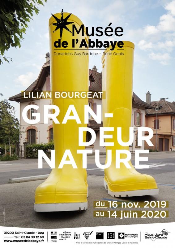 MUSÉE DE L'ABBAYE - EXPOSITION/PARCOURS : GRANDEUR NATURE - LILIAN  BOURGEAT_1