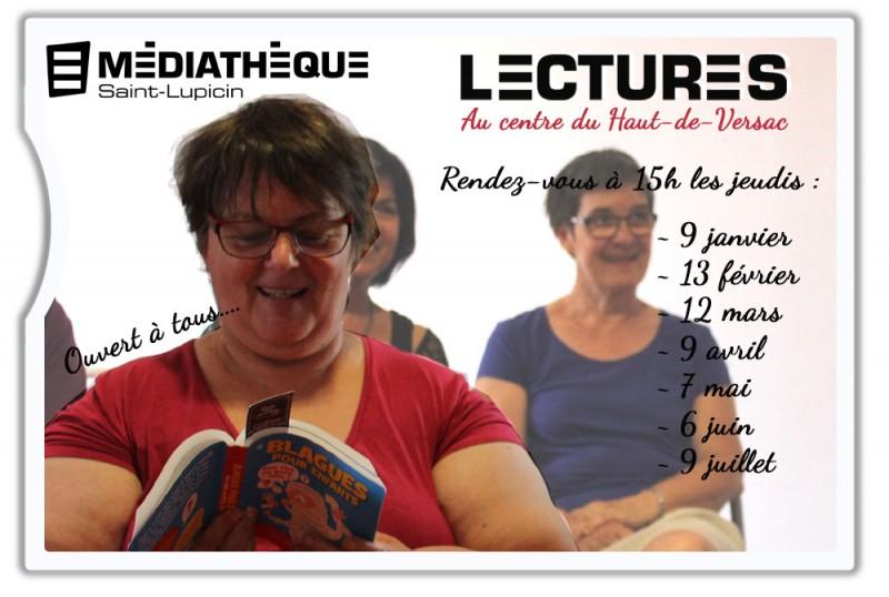 MÉDIATHÈQUE DE SAINT LUPICIN -  LECTURES_1