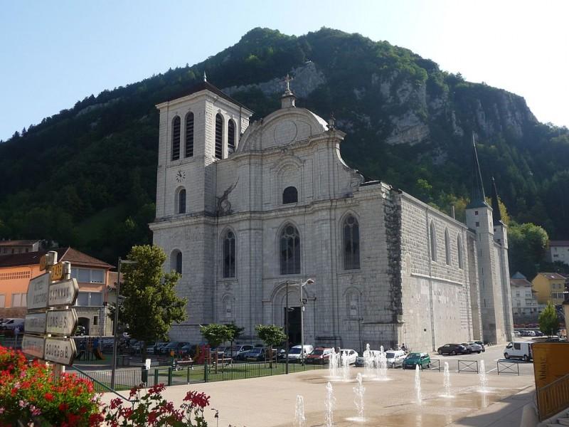 Cathédrale de Saint-Claude © Ville de Saint-Claude
