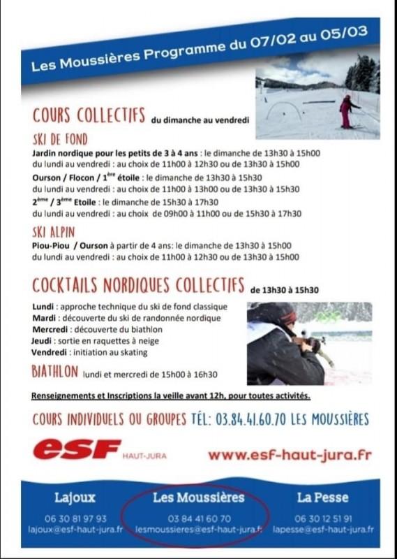 ESF Les Moussières