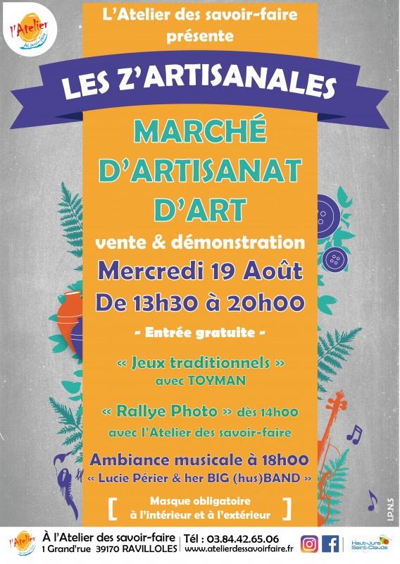 Les Z'Artisanales 8.2020 AFFICHE-01