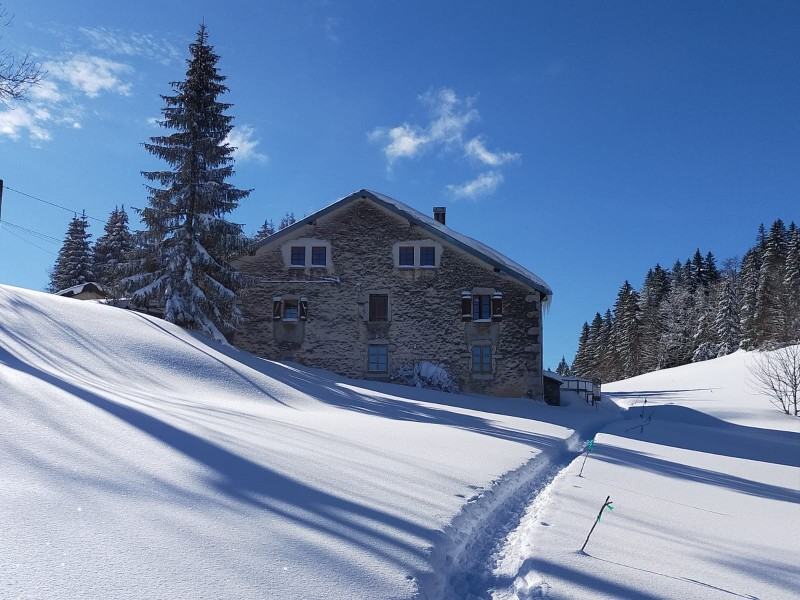 la hotte accès en hiver